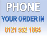 You can 'buy-now' over the telephone
